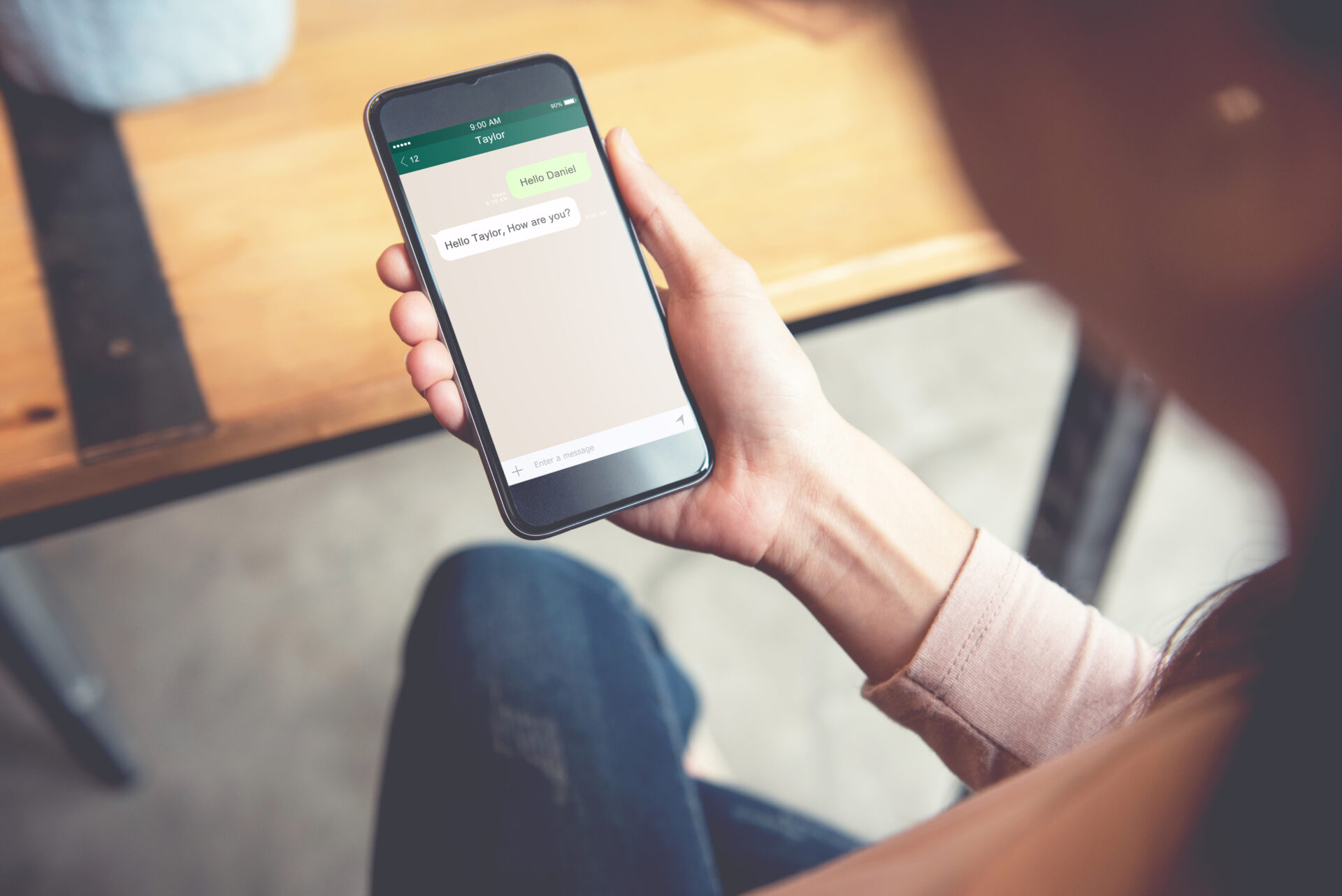 Send notifications, promotions, follow-up messages and appointment reminders via messaging channels like WhatsApp and achieve 95% open rates
