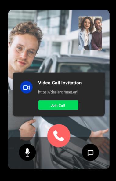 Video call invitation